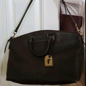 Dooney & Bourke Florentine Vachetta Brown Leather